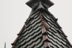 střecha na vile u Lidlu